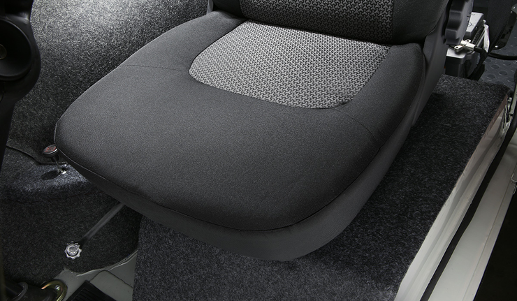 Новый УАЗ-буханка сиденья в салоне