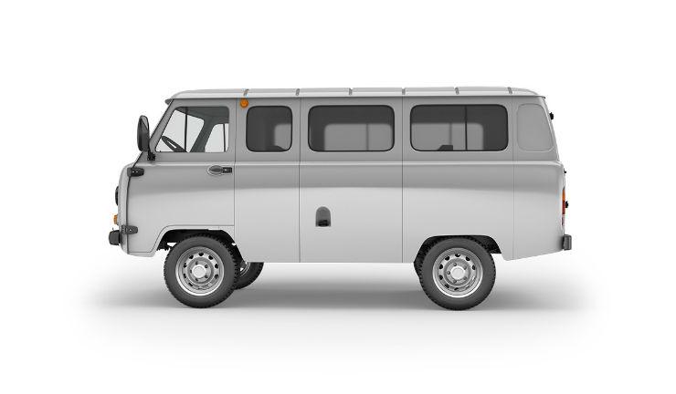 Новый УАЗ-буханка: головастик